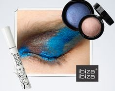 Bronze & Blue ••• Bronce & Azul Straightener, Hair, Beauty, Bronze, Blue Nails, Cosmetology