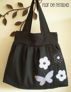 Bolsa: Flor de Retalho | Flickr - Photo Sharing!
