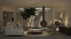 home atrium, interior design