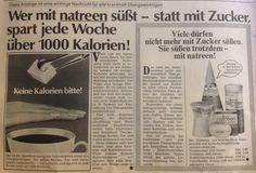 Sokerin vaaroista makeutusaine kunniaan 70-luku mainos