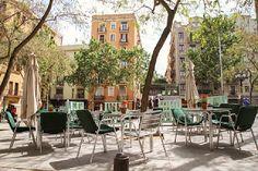 Plaza del Sortidor #poblesec #barcelona #stylish