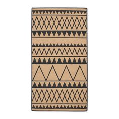 IKEA VINTER 2017 Rug, flatwoven Natural/grey 80x150 cm Ideal for high traffic areas like hallways since the rug is easy to vacuum and maintain.
