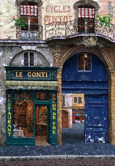 Le Conti , Paris