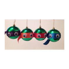 diy navideño ninja turtles