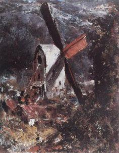 A Windmill near Brighton - John Constable