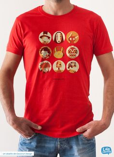 Ghibli Collection t-shirt | Design by Coconut