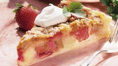 Rhubarb Brunch Cake Recipe.  Stephanie Neujarh's favorite!