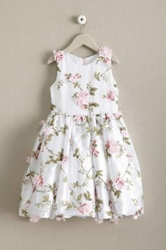Flower power! Give your little girl's wardrobe a breath of spring with this flower trellis dress.