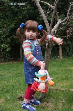 My wonderful favourite Lacey (doll by Monika Levenig)