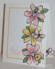 Garden in Bloom by shoogendoorn - Cards and Paper Crafts at Splitcoaststampers