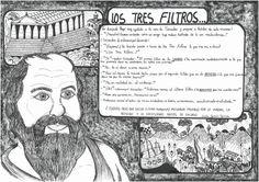 Ilustración de Lucía García sobre un texto de Sócrates.