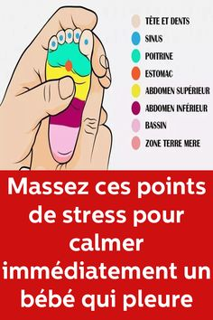 Massage these stress points to immediately calm a crying baby – Baby Massage Baby Massage, Massage Bebe, Stress Factors, Baby Supplies, How To Get Sleep, Pregnant Mom, Baby Hacks, Baby Sleep, Baby Care