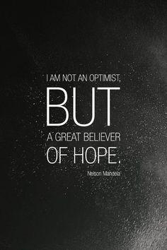 I like this... but I am an optimist