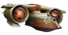The Slave IV was an AIAT/i gunship produced by Kuat Drive Yards that was used by Boba Fett to replace the Slave III. Coincidently, it was of the same ship class as Jaster's Legacy, the original vessel of Boba's father, Jango Fett. The Slave IV assisted Fett on his many escapades through the galaxy. For instance: He used the ship to track down a Devaronian named Kardue'sai'Malloc on Peppel who was wanted on Devaron for his crimes.