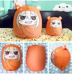 1PCS 40CM*32CM Himouto! Umaru-chan Umaru Anime Cushion Pillow Costume Cosplay + Track Number