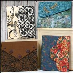 Patterns for ipad covers that use two fat quarters.