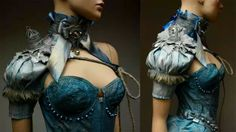Steampunk fashion by Pink Absinthe