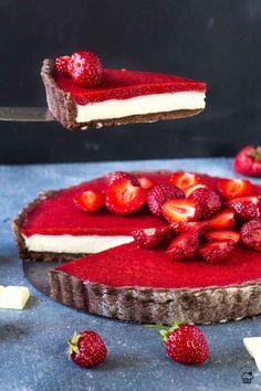 Tart Recipes, Sweet Recipes, Baking Recipes, Dessert Recipes, Cake Recept, Sweet Bar, Homemade Sweets, Mini Cheesecakes, Sweet And Salty