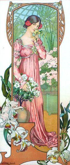 elisabeth sonrel 1874-1953 - fleurs des jardin