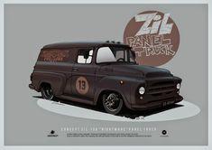 ciberconcept: ZIL 130 panel truck concept