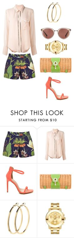 """""""Untitled #102"""" by twinstar2779 ❤ liked on Polyvore featuring Penfield, Chloé, Kate Spade, Pieces, Movado and Oliver Peoples"""