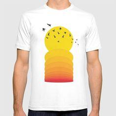 Orange Bird, Keep Shopping, Cool Stuff, Stuff To Buy, Cool Designs, Comfy, Sunset, Yellow, Tees