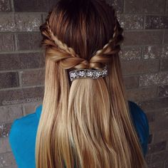 """""""Hairstyle inspired by @lalasupdos I love how this turned out✨"""" Photo taken by @creative.braids on Instagram, pinned via the InstaPin iOS App! http://www.instapinapp.com (04/25/2015)"""