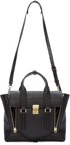 Dreams ... 3.1 Phillip Lim Black Medium Pashli Satchel
