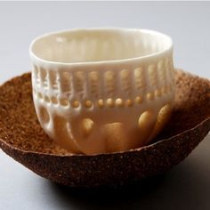 Pair of pinch pots by Vicki Grima 2010
