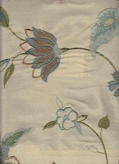 Kospi Azul - www.BeautifulFabric.com - upholstery/drapery fabric - decorator/designer fabric