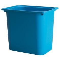 TROFAST Storage box - blue - IKEA