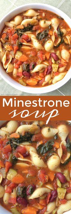 Minestrone Soup | www.togetherasfamily.com