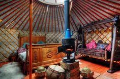 Beautiful Yurt Interiors With Share