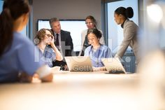 business and medicine working together royalty-free stock photo