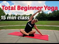 15 min Yoga Stretches for Complete Beginners Class - Great for stretching out before/after a workout or just by itself.