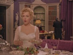 """Marilyn Monroe in """"The Prince and the Showgirl"""" - marilyn-monroe Screencap"""