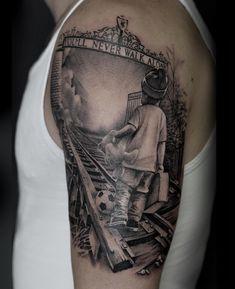 Soccer Tattoos, Football Tattoo, Sport Tattoos, Autism Tattoos, Cool Tattoos, Lion Forearm Tattoos, Forarm Tattoos, Small Tattoos For Guys, Different Tattoos