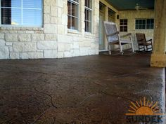 Check out our latest repaired & resurfaced decorative concrete patios in Philadelphia! Call us @ (717) 245-2829 for your concrete resurfacing & repair needs.