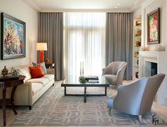Серые шторы для в интерьере квартиры: стильный дизайн на фото