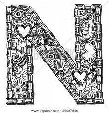 doodles for letter n - Google Search