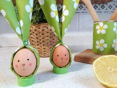 DIY: Divertidos huevos de Pascua disfrazados de Conejitos
