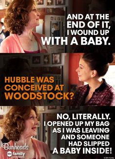 Bunheads-I just put it on the lost baby table