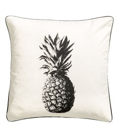 Kuvallinen tyynynpäällinen | Valkoinen/Ananas | Home | H&M FI