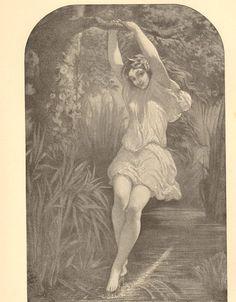 1896 Undine La Motte Fouque Muller Wood by HeatherwoodArtPrints, $12.00