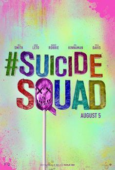 Suicide Squad [] [] [] [2016] [] http://www.imdb.com/title/tt1386697/?ref_=nv_sr_1 [] blitz trailer [146s] https://www.youtube.com/watch?v=MZwsbcW-d-E [] official trailer [152s] https://www.youtube.com/watch?v=yJ7WVRGwHy8 [] http://v.youku.com/v_show/id_XMTQ1MTI4NzgwMA==.html [] [] [] boxoffice take http://www.boxofficemojo.com/movies/?id=dc2016.htm [] [] [] based on DC comic book series https://en.wikipedia.org/wiki/Suicide_Squad  [] [] []