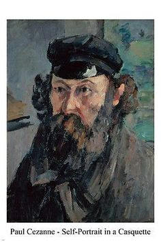 Self-Portrait in a Casquette PAUL CEZANNE FINE ART POSTER 24X36 painting Brand New. 24x36 inches. Will ship in a tube. - Multiple item purchases are combined the next day and get a discount for domest