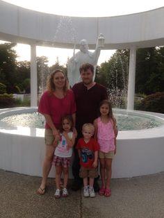 Family in Eureka Springs