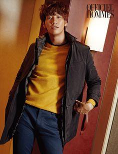 Kim Young Kwang - L'Officiel Hommes Magazine October Issue Korean Wave, Korean Star, Korean Men, Asian Actors, Korean Actors, Sweet Stranger And Me, Kim Young Kwang, Dramas, Fangirl Problems