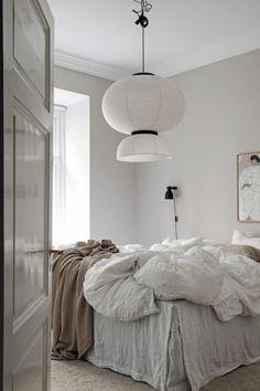 Une chambre cocooning de style scandinave toute douce