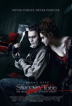 Sweeney Todd (2007): Revenge is a staple of the genre. And this horror-opera makes the most of it with Johnny Depp (singing) in Tim Burton's adaptation of the long-running Sondheim musical. Despite the many embodiments that have come before, Burton's Todd is both faithful and innovative, beautifully recreating the grimy cobblestones, and even grimier characters, of Dickensian London. Love and madness, envy and wrath – it all gets sorted under the razor's bite. SCARE FACTOR: 5/10 | Rated: R